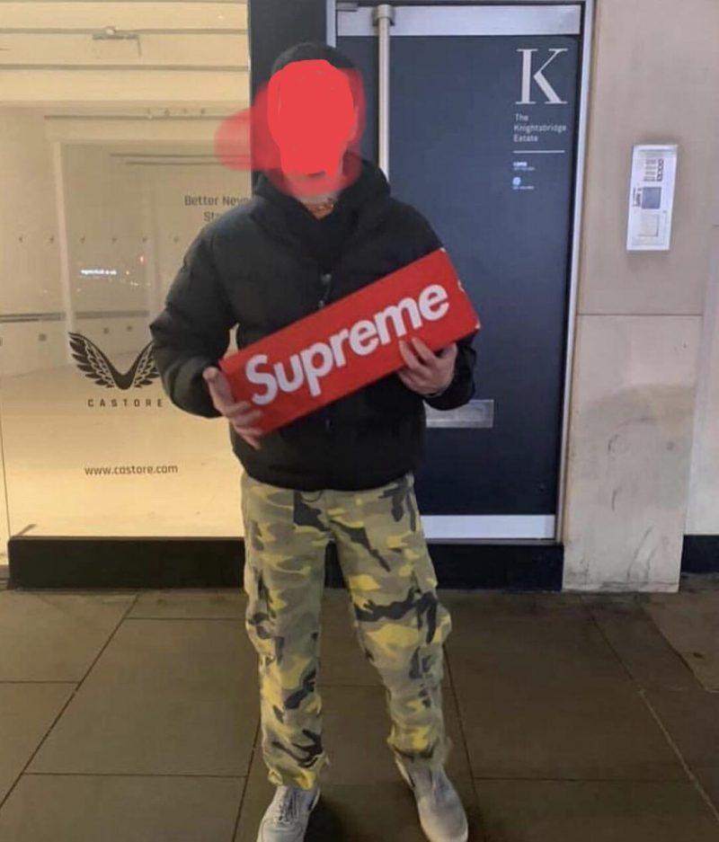 Stolen Supreme Sign
